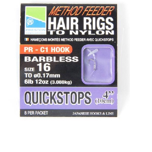 Готовые поводки Method Hair Rigs With Quick Stops