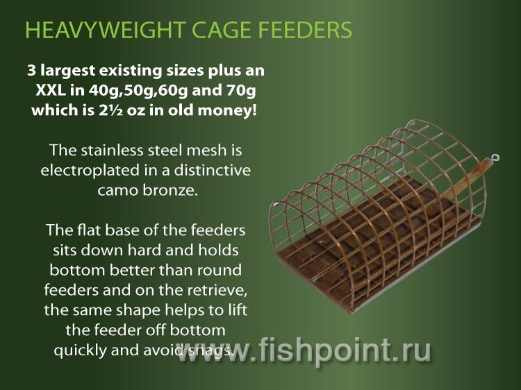 Oval Cage Feeder HEAVY